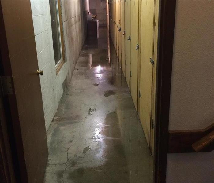 Basements with water damage are tricky Before