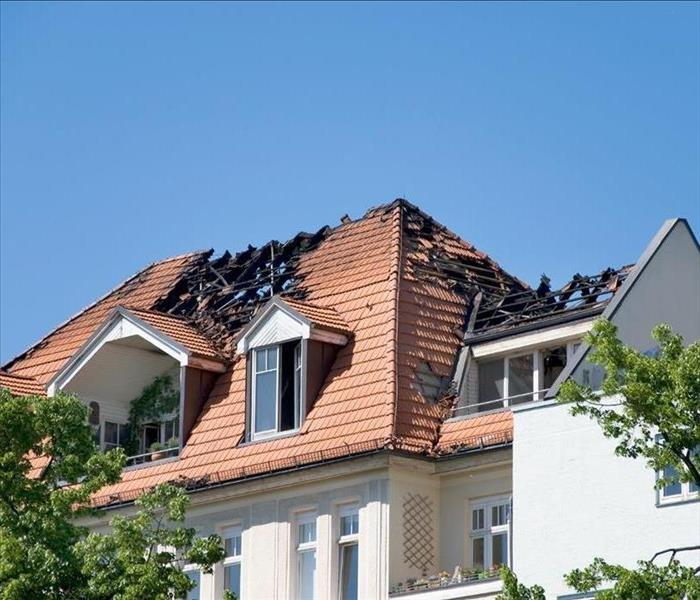 Why SERVPRO 3 Ways To Mitigate Roof Damage After a Fire