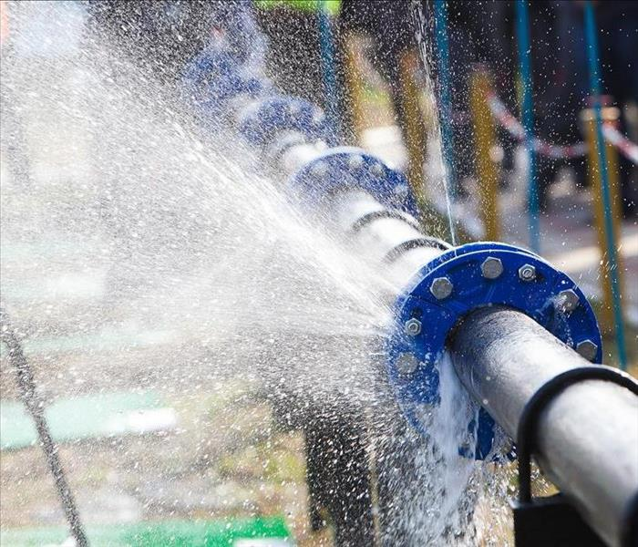 Commercial Steps To Take When Pipes Burst